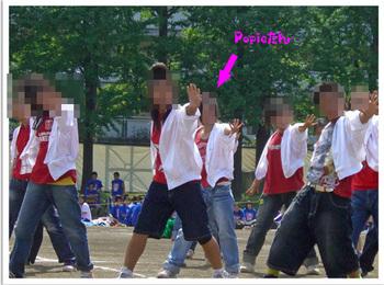 Popieのダンス2009 09 11 .jpg